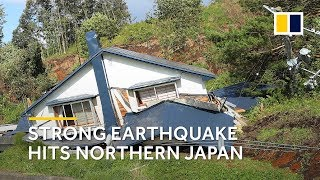 Magnitude 6.7 earthquake hits northern Japan's Hokkaido