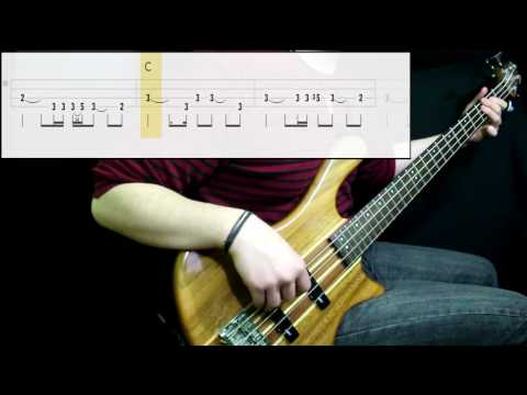 Radiohead - Creep (Bass Cover) (Play Along Tabs In Video)