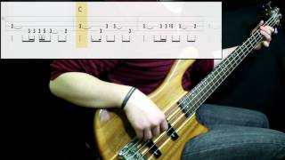 Radiohead - Creep (Bass Cover) (Play Along Tabs In)