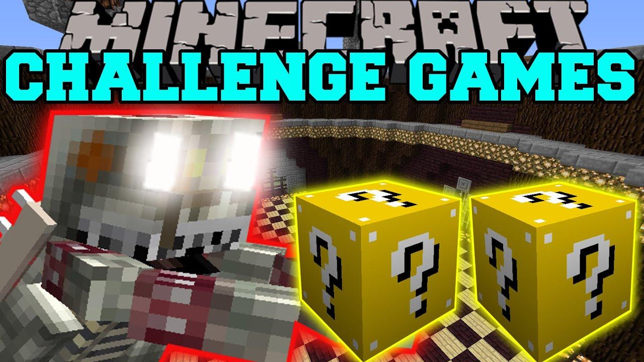 Minecraft KING BOWSER CHALLENGE GAMES Lucky Block Mod