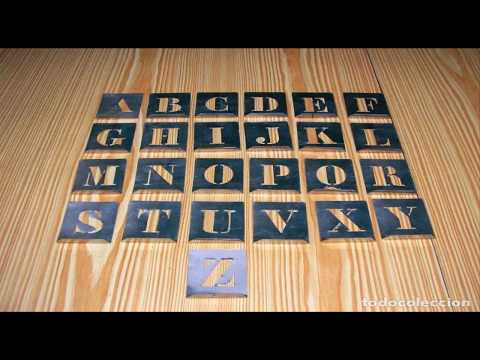 How to make letter templates to paint signs