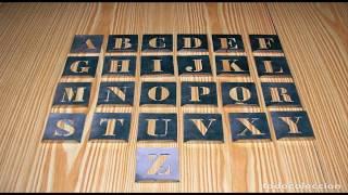 Como hacer plantillas de letras para pintar letreros