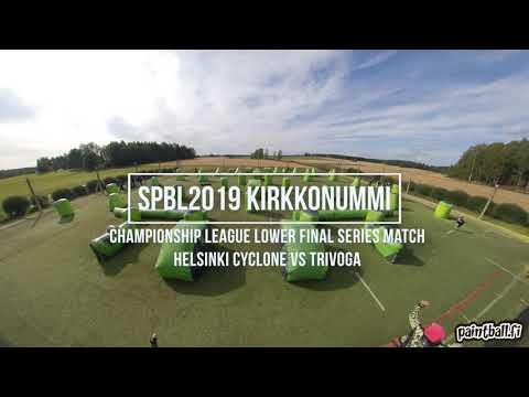 Helsinki Cyclone vs Trivoga - SPBL2019 Kirkkonummi