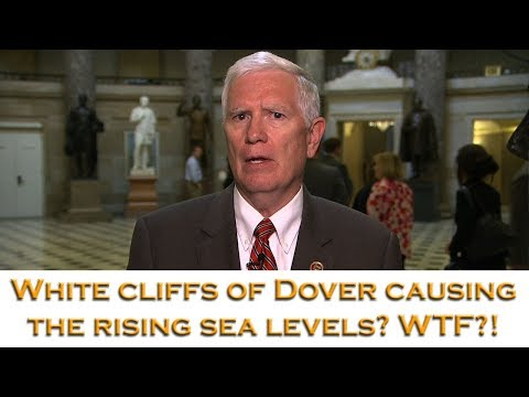 GOP Rep makes dumb excuse for rising ocean levels