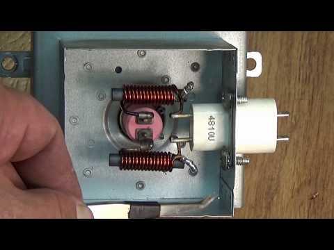 Как выглядит магнетрон в микроволновке