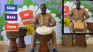 SPAC Break: Let's Learn West African Drumming with M'Bemba Bangoura!