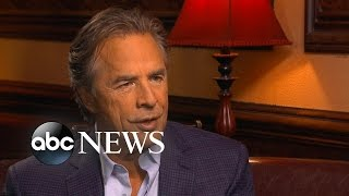 Don Johnson Discusses His Role in