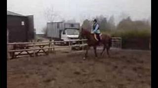 V and i jumping.