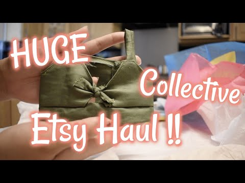 HUGE American Girl Etsy Clothing Haul!! Custom Ordered Clothes!