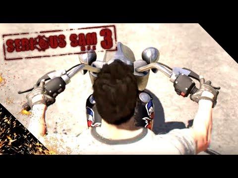 Serious Sam 3: BFE - FEDOS И KART РУБЯТ В КАПУСТУ