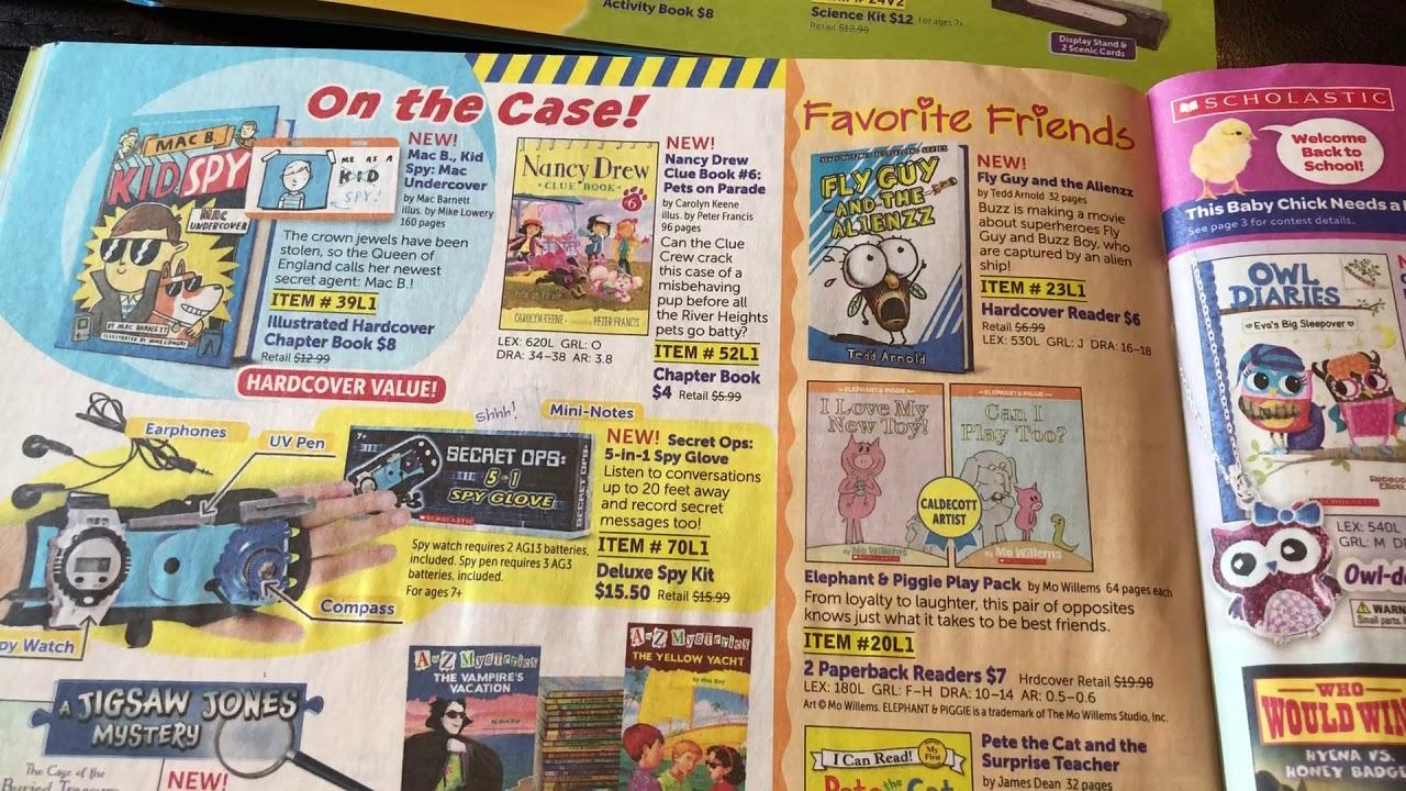 scholastic book orders for teachers