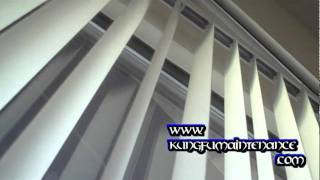 How To Repair Blinds When One Or More Vertical Blind Slats Won't Turn