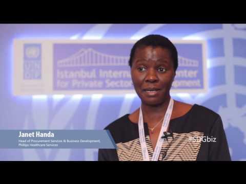 Janet Handa: Head of Procurement, Philips Healthcare Services Limited