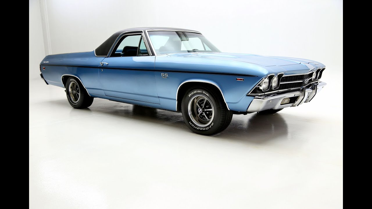 1969 Chevrolet El Camino SS - YouTube