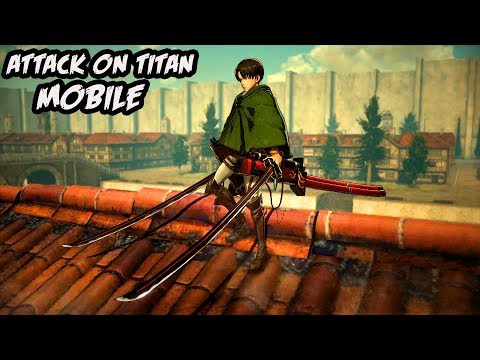 Keren broo!! | ATTACK ON TITAN MOBILE Android / IOS MMORPG gameplay apk 進擊的巨人  #Smartphone #Android