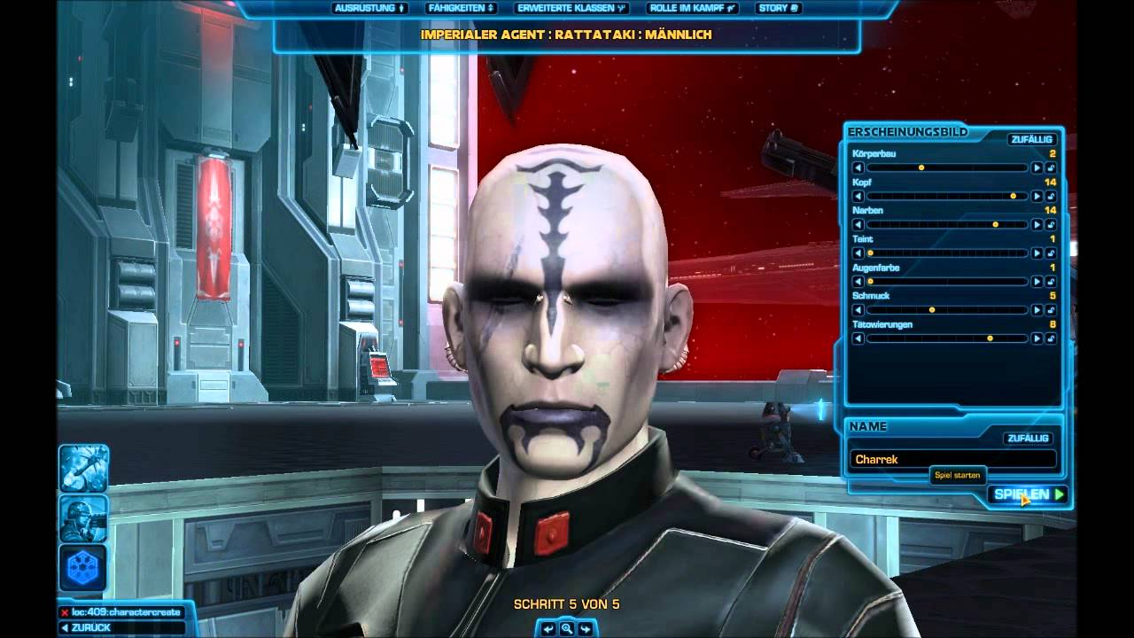 Lets Preview Star Wars The Old Republic Beta 001 Deutschgerman