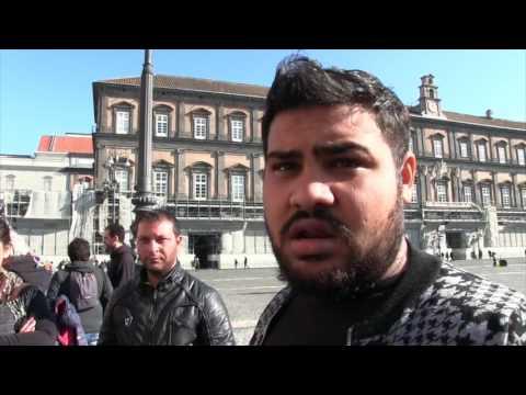 Napoli, presidio contro sgombero del campo in via Brecce