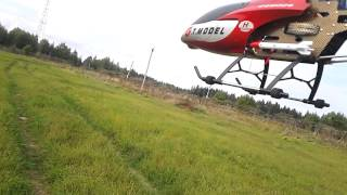 QS8006 Big RC Helicopter (134cm) [with crash in the end]