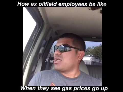 How ex oil field employees be like when they see gas prices go up lol
