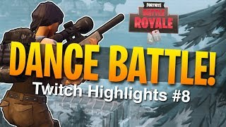DANCE BATTLE - Tfue Fortnite Twitch Highlights #8