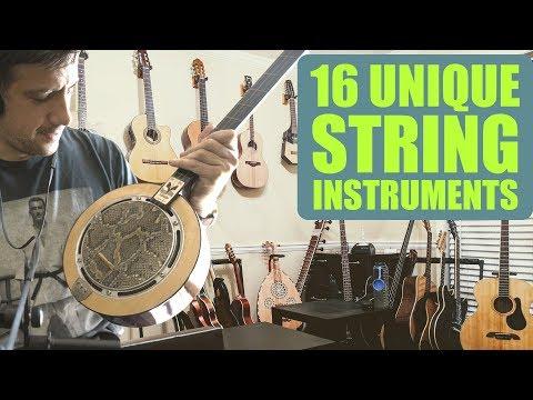 A Tour Of My Most Unique String Instruments