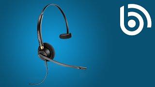 Plantronics HW510 EncorePro Monaural Noise Cancelling Headset Overview