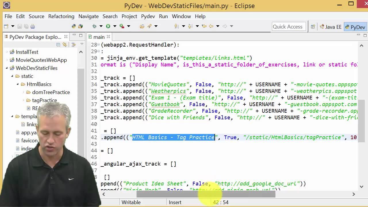 HTML Basics - Tag Practice - YouTube