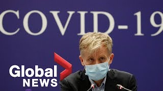Coronavirus outbreak: WHO expert says countries must shift mindset to virus preparedness | FULL