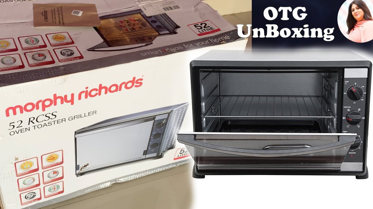 Unboxing Of My New Oven Toaster Griller Otg 52 Rcss Otg Morphy Richards Kitchen Upgrade Youtube Morphy richards 28 rss 28 litre oven toaster griller otg overview specifications in detail. unboxing of my new oven toaster griller otg 52 rcss otg morphy richards kitchen upgrade