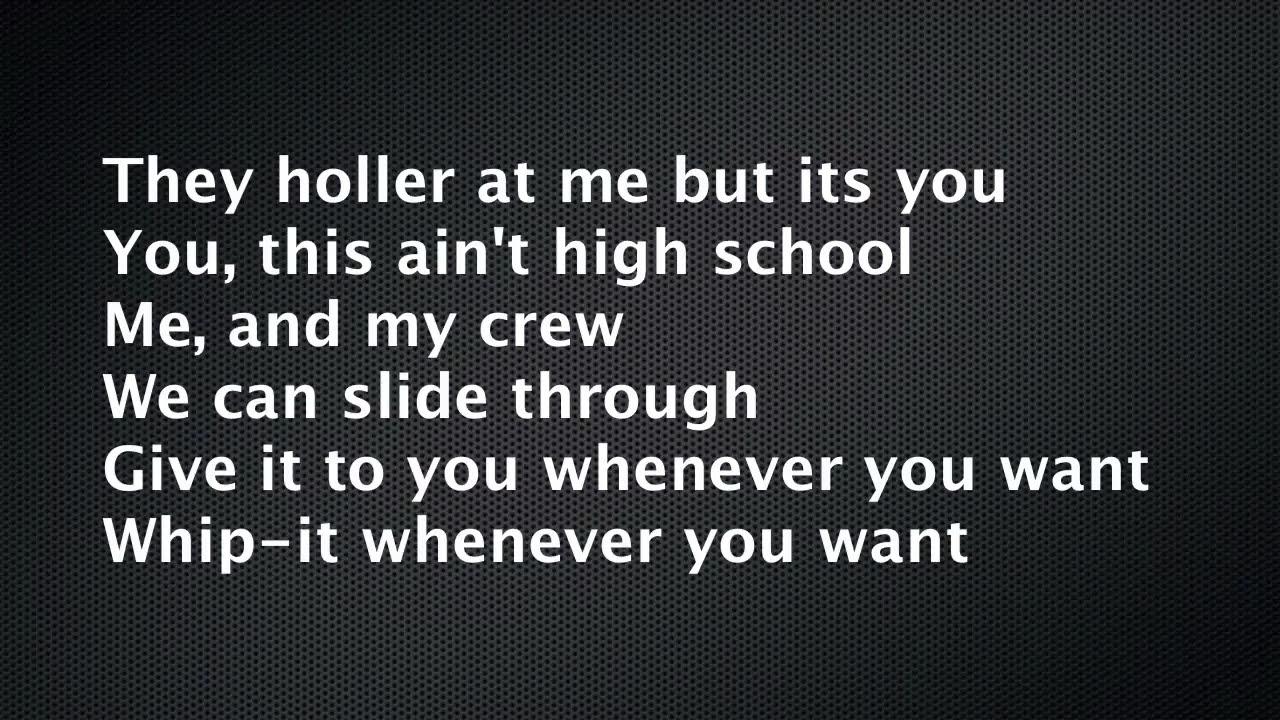 Nicki Minaj   High School lyrics