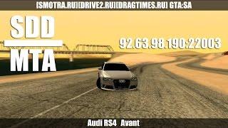 MTA SDD | Audi RS4 Avant