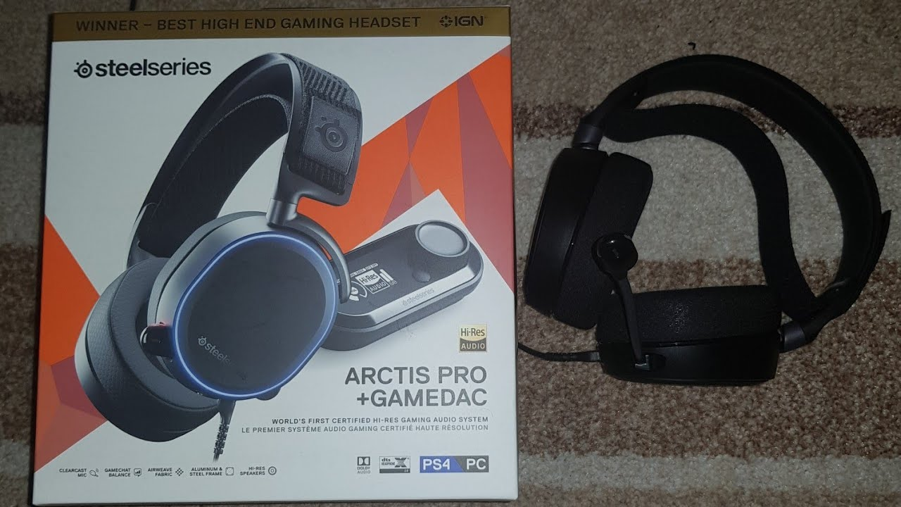 Steelseries Arctis Pro Gamedac Honest Review For Ps4 And Eq Settings For Modern Warfare Youtube
