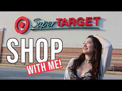 COME 'DRUGSTORE' BEAUTY SHOPPING WITH ME!   At SuperTarget in the US 🇺🇸