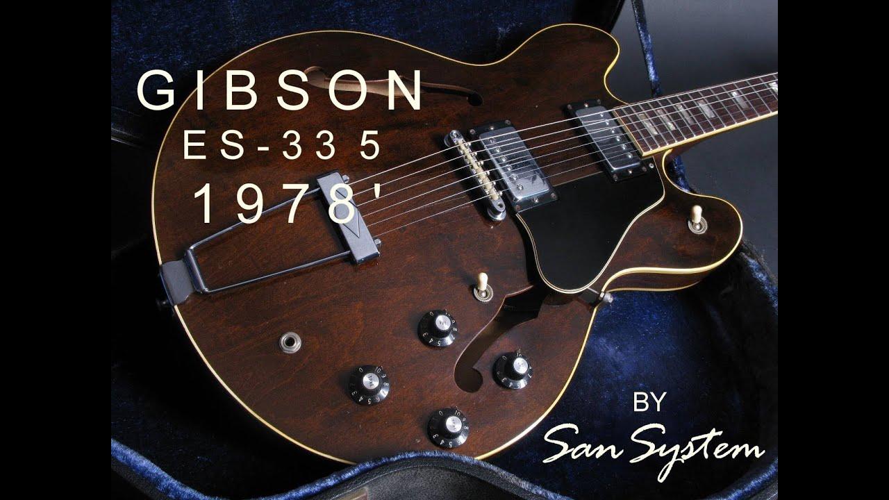 Gibson ES 335 1978 Walnut