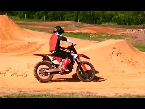 James Stewart Riding Supercross And Motocross On A Honda