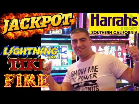 Lightning Link Slot Machine HANDPAY JACKPOT 🔴LIVE STREAM From Harrah's Casino