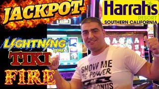 LIVE STREAM Slot Play & HANDPAY JACKPOT  ON Lighting Link! From Harrah's Casino