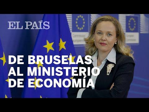 NADIA CALVIÑO, ministra de Economía de Pedro Sánchez