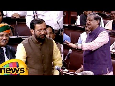 Prakash Javadekar vs Naresh Agarwal | We Are Not Here For Daily Wages Says Prakash Javadekar