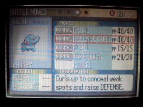 Pokemon Emerald Ruby Sapphire How To Get Phanpy Youtube