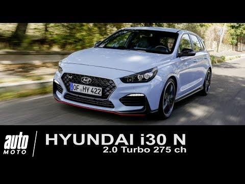 Hyundai i30 N Turbo 275 ch ESSAI Auto-Moto.com