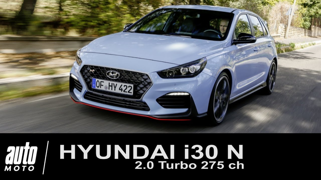 hyundai i30 n turbo 275 ch essai auto youtube. Black Bedroom Furniture Sets. Home Design Ideas