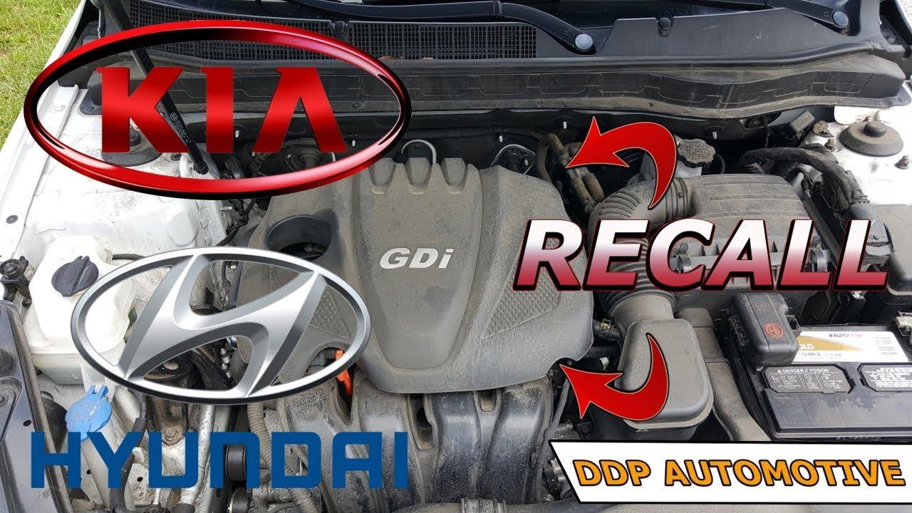 2017 Kia And Hyundai Theta Engine Recall