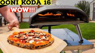 Ooni Koda 16 Demonstration | Making Pizza at Home with Ooni Koda 16