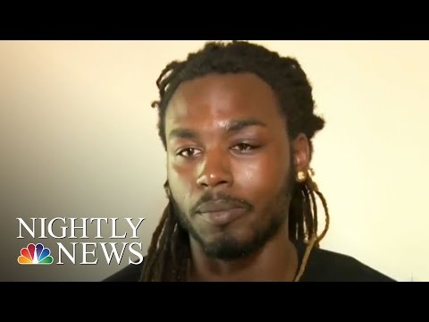 Video Shows Man Beaten By Officer, Police Dept. Says It's Unacceptable | NBC Nightly News