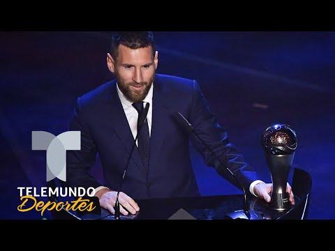 Lionel Messi obtiene el premio The Best al Jugador del 2019 | Telemundo Deportes
