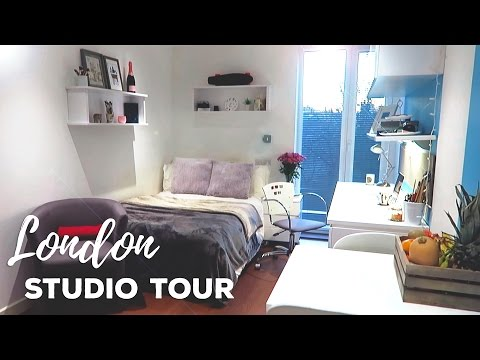 London Studio Apartment Tour! | GradPad Studios, London | At
