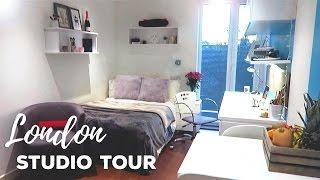 London Studio Apartment Tour! | GradPad Studios, London | Atousa