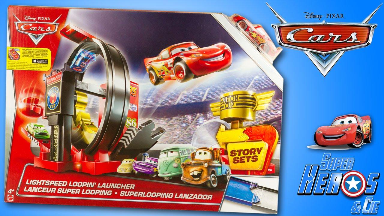 Lightspeed Set Mcqueen Lightning Toy Piston Cars Track Cup 4k Launcher Juguetes Disney Loopin' xBtCsorQhd
