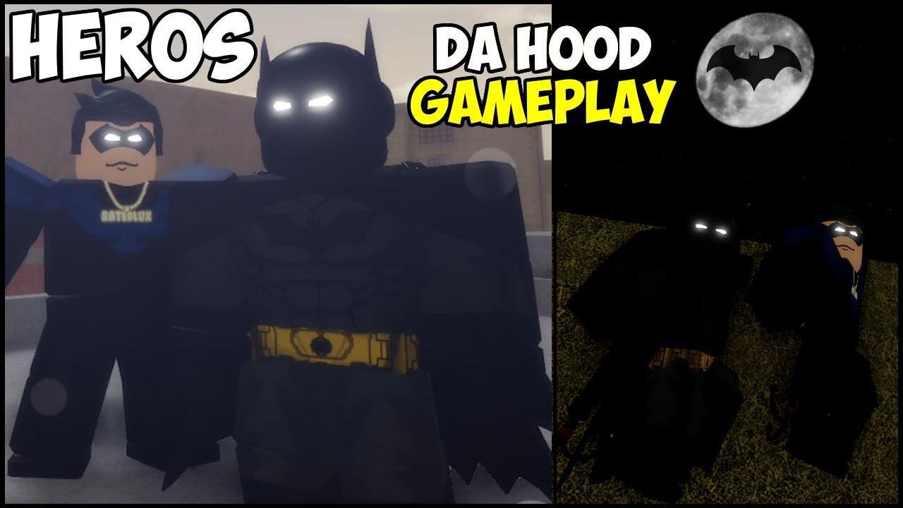 I BECAME A SUPERHERO IN DA HOOD!!! [PART 3] (ROBLOX) BATMAN AND BATWING! 😲🦸♂️